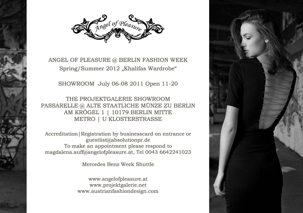 Teilnahme Fashion Week Berlin