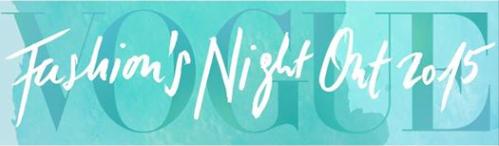 Teilnahme an der Vogue Fashion´s Night Out 2015