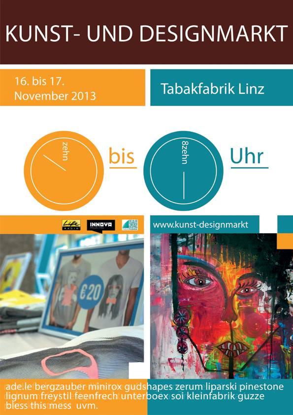Teilnahme am Kunst-und Designmarkt