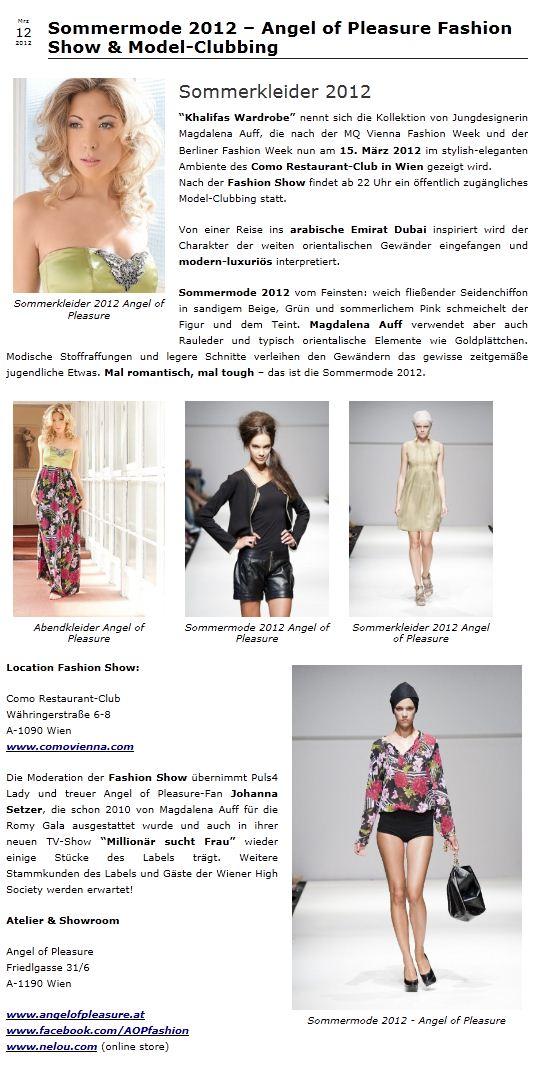 Fashionable.at, 12.3.2012