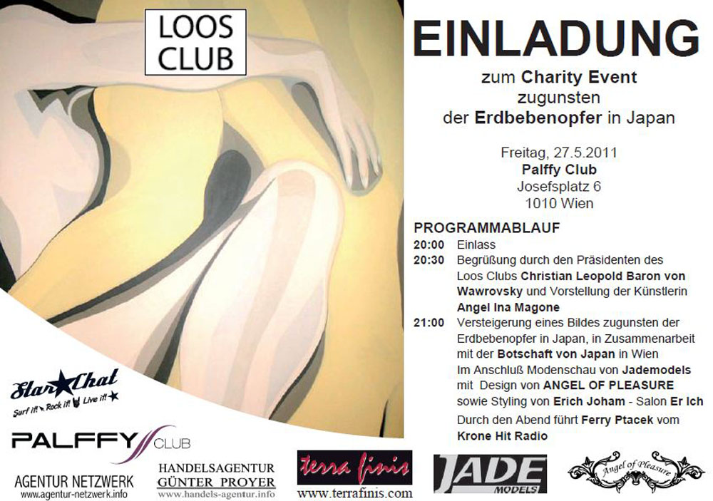 Charity - Modeschau für Loos Club