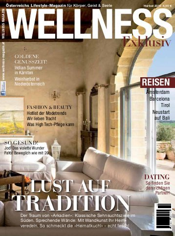 Artikel im Wellness Magazin