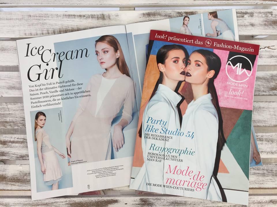 3 AoP Modelle im Mode Wien Fashion Magazin by look!