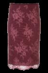 AoP-FW19-Spitzenrock-Bordeaux-Weihnachtsoutfit